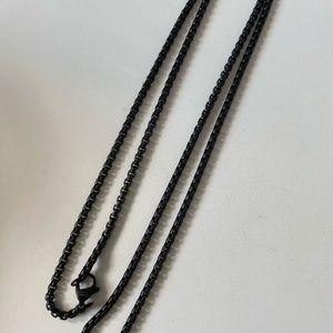 David Yurman box chain 1.7 mm 26 inches